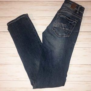 BKE mid-rise Straight leg jeans
